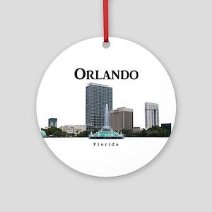 Orlando Ornament (Round)