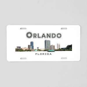 Orlando Aluminum License Plate