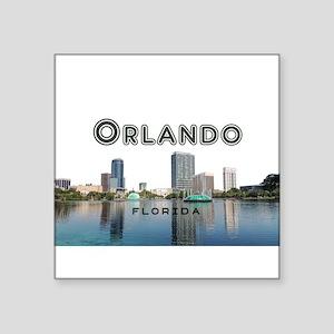 """Orlando Square Sticker 3"""" x 3"""""""
