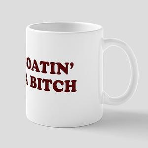 Motorboatin SOB Mug
