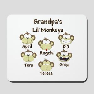 Custom kids monkeys Mousepad