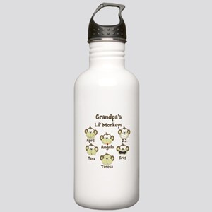 Custom kids monkeys Stainless Water Bottle 1.0L