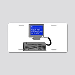 PEBKAC - ID10T Error Aluminum License Plate