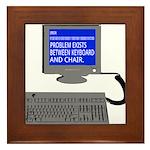 PEBKAC - ID10T Error Framed Tile