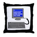 PEBKAC - ID10T Error Throw Pillow