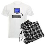 PEBKAC - ID10T Error Men's Light Pajamas