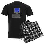 PEBKAC - ID10T Error Men's Dark Pajamas