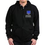PEBKAC - ID10T Error Zip Hoodie (dark)