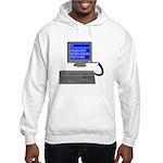 PEBKAC - ID10T Error Hooded Sweatshirt