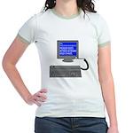 PEBKAC - ID10T Error Jr. Ringer T-Shirt