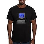 PEBKAC - ID10T Error Men's Fitted T-Shirt (dark)