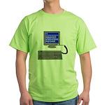 PEBKAC - ID10T Error Green T-Shirt