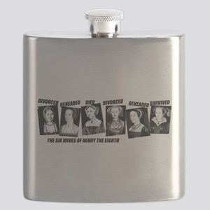 Henry VIII Wives Divorced Beheaded Flask