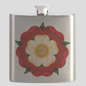 Tudor Rose Flask