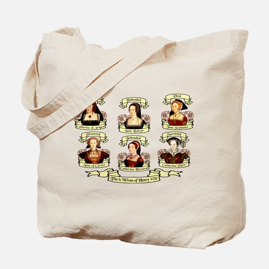 Fates Of Henry VIII Wives Tote Bag