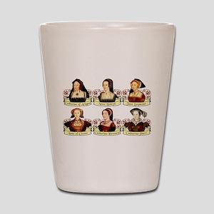 Six Wives Of Henry VIII Shot Glass