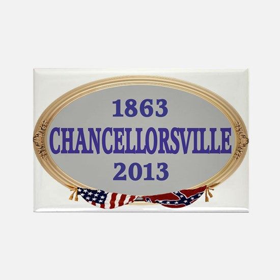 150th Chancellorsville Rectangle Magnet