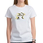 Leo - Stylized Zodiac Symbol Cat Women's T-Shirt