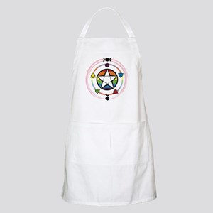 LGBT Elemental Pentagram Light Apron