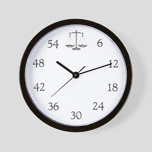Lawyer's Wall Clock
