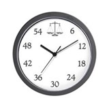 Law Wall Clocks