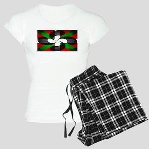 Basque Flag and Cross Women's Light Pajamas