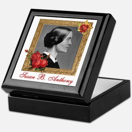 Susan B. Anthony Keepsake Box