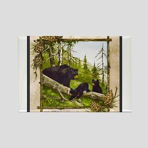 Best Seller Bear Rectangle Magnet