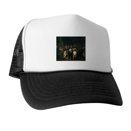 Rembrandt Night Watch Trucker Hat