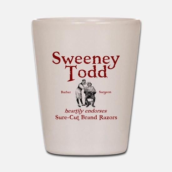 Sweeney Todd Shot Glass