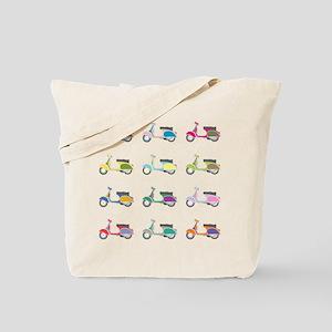 Vespa Piaggio Party Tote Bag
