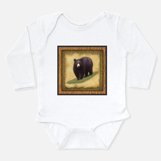 Best Seller Bear Long Sleeve Infant Bodysuit