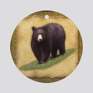 Best Seller Bear Ornament (Round)