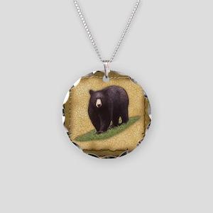 Best Seller Bear Necklace Circle Charm