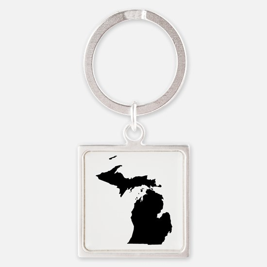 Unique South haven michigan lighthouse Square Keychain
