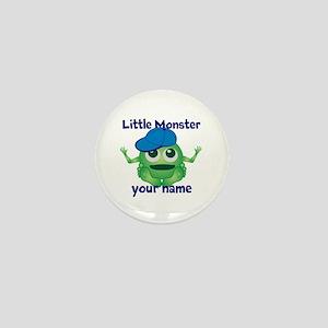 Little Monster Boy Mini Button