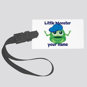 Little Monster Boy Large Luggage Tag