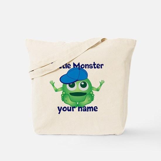 Little Monster Boy Tote Bag