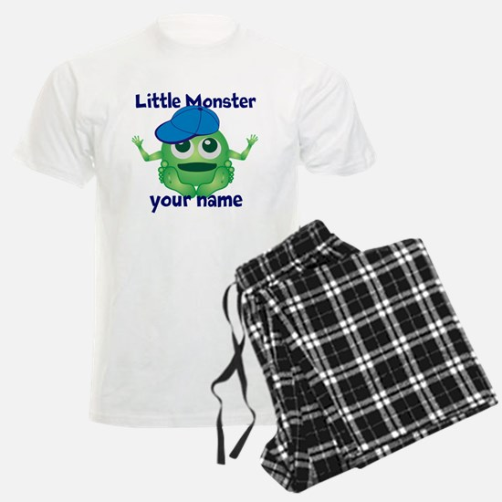 Little Monster Boy Pajamas