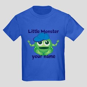 Little Monster Boy Kids Dark T-Shirt