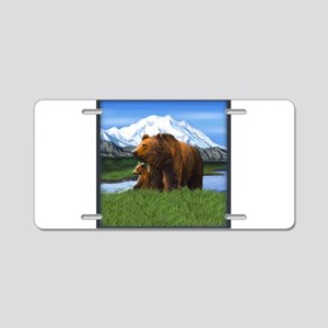 Best Seller Bear Aluminum License Plate