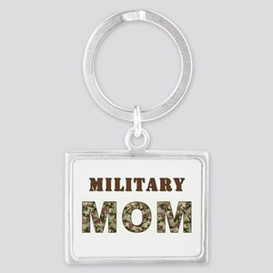 MILITARY MOM ONE Landscape Keychain