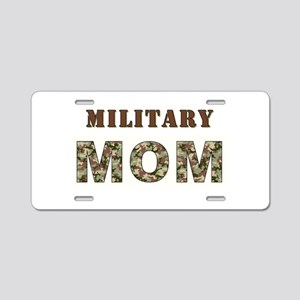 MILITARY MOM ONE Aluminum License Plate