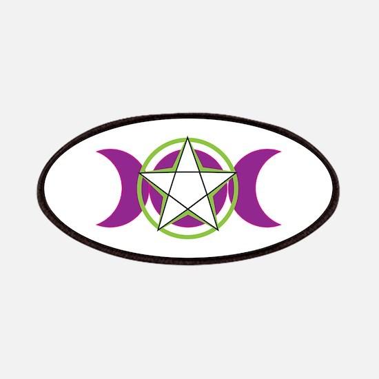 Moon Goddess Pentagram Patches
