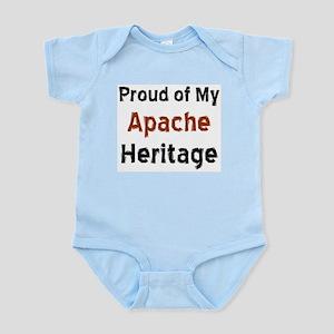 apache heritage Infant Bodysuit