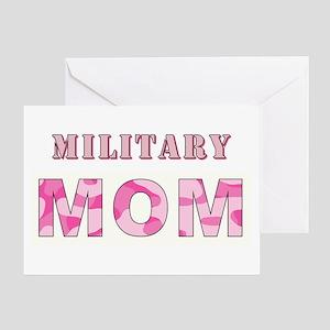 MILITARY MOM Greeting Card