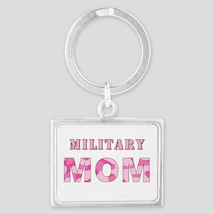 MILITARY MOM Landscape Keychain