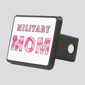MILITARY MOM Rectangular Hitch Cover