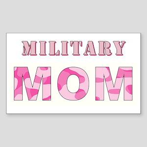 MILITARY MOM Sticker (Rectangle)