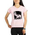 Borzoi and Unicorn Performance Dry T-Shirt